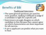 benefits of bbi2