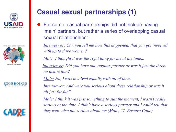 Casual sexual partnerships (1)