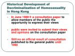 historical development of decriminalization of homosexuality in hong kong1