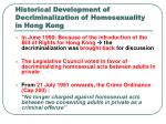 historical development of decriminalization of homosexuality in hong kong2
