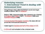underlying reasons 1 international trend in dealing with homosexual laws