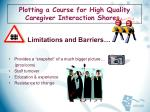 plotting a course for high quality caregiver interaction shores17