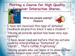 plotting a course for high quality caregiver interaction shores21