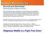 school procedures1