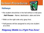 school procedures2