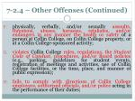 7 2 4 other offenses continued