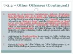 7 2 4 other offenses continued1