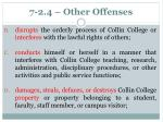 7 2 4 other offenses
