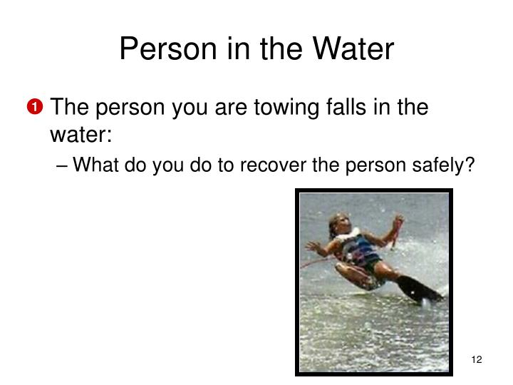 Person in the Water