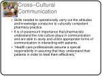 cross cultural communication1