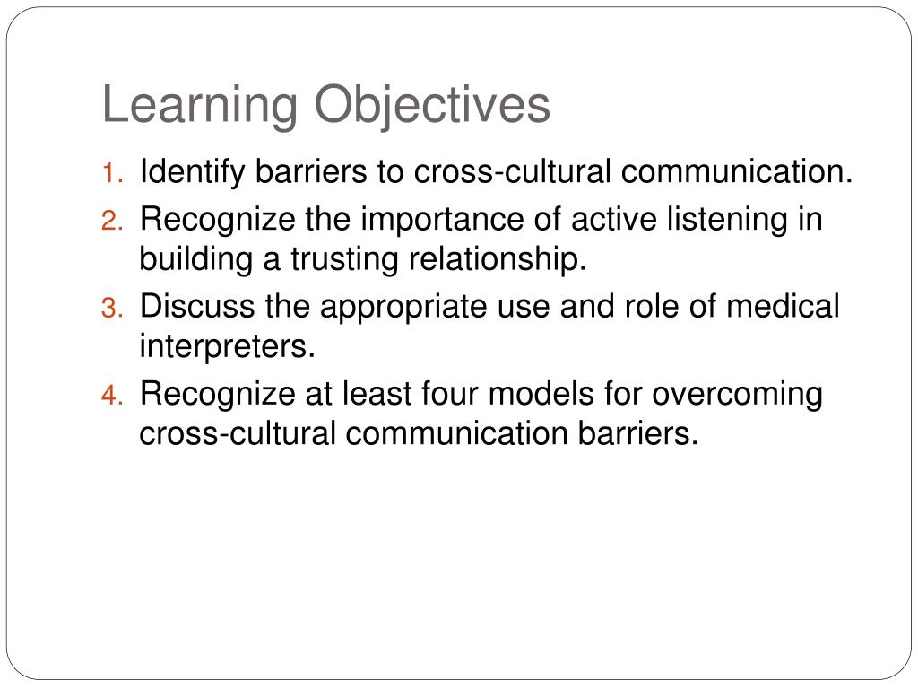 PPT - Cross–Cultural Communication PowerPoint Presentation