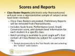 scores and reports3
