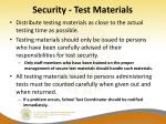 security test materials1