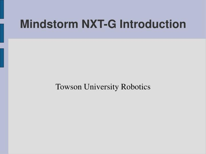 towson university robotics n.