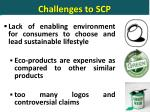 challenges to scp3