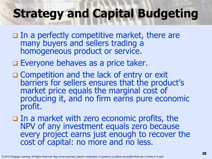 cango management and capital budgeting project The capital budget process allows you to consider all the ramifications of growth that includes the costs associated with the additional resources you'll need to achieve that growth.
