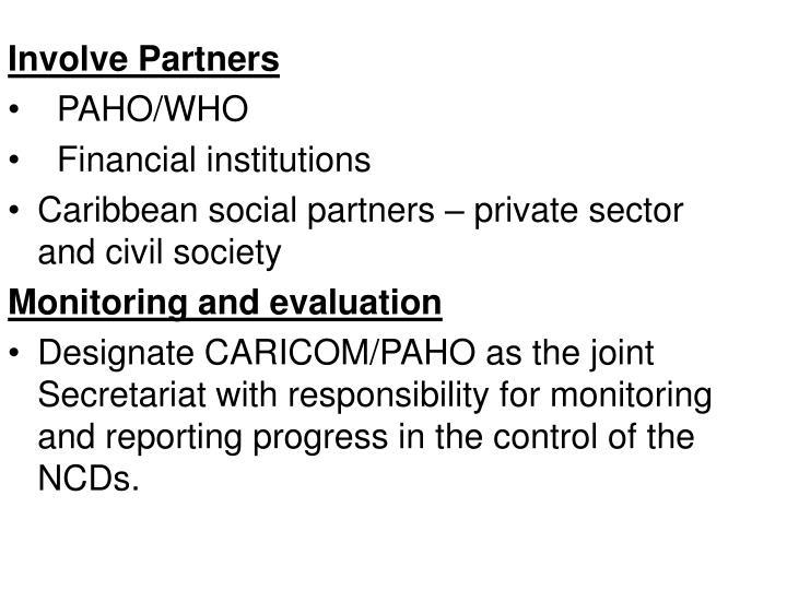 Involve Partners