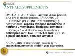 anti alz supplements