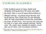exercise in elderly