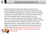 sample introduction 4