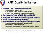amc quality initiatives