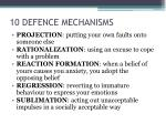 10 defence mechanisms1