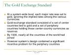 the gold exchange standard1