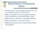 biochemistry of attachment failure
