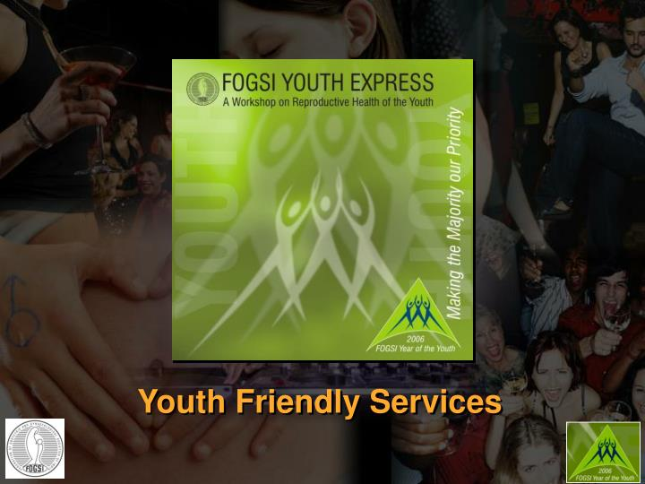 youth friendly services n.