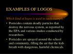examples of logos