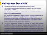 anonymous donations1