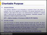 charitable purpose1
