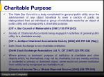 charitable purpose6