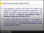 partly private and partly public trusts1