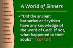 a world of sinners1