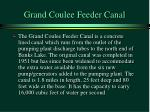 grand coulee feeder canal