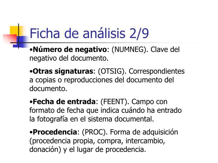 Ficha de análisis 2/9