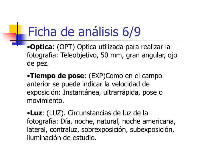 Ficha de análisis 6/9