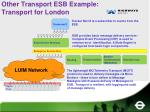other transport esb example transport for london