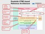 roadside utmc based reference architecture