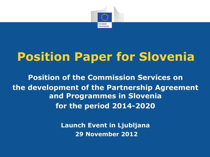 position paper for slovenia n.