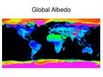 global albedo