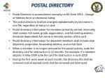 postal directory