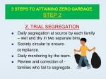 3 steps to attaining zero garbage step 2