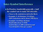 inter symbol interference