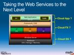 taking the web services to the next level