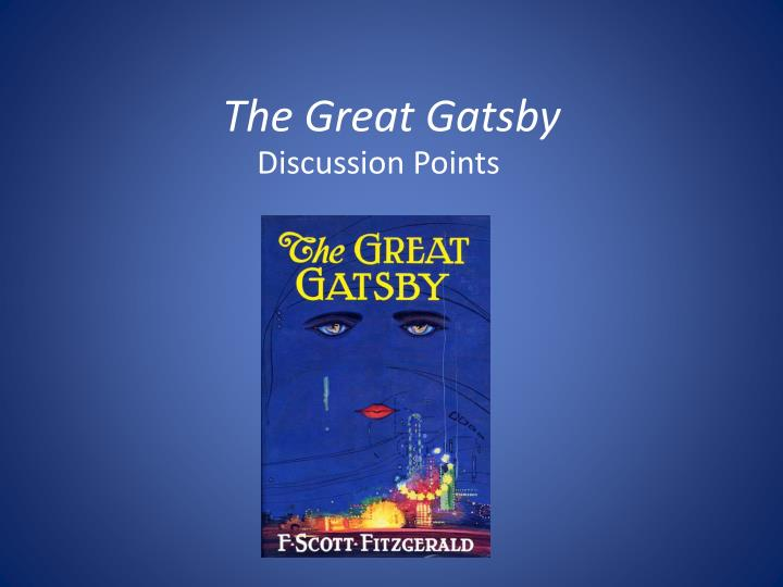 the great gatsby n.
