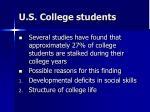 u s college students
