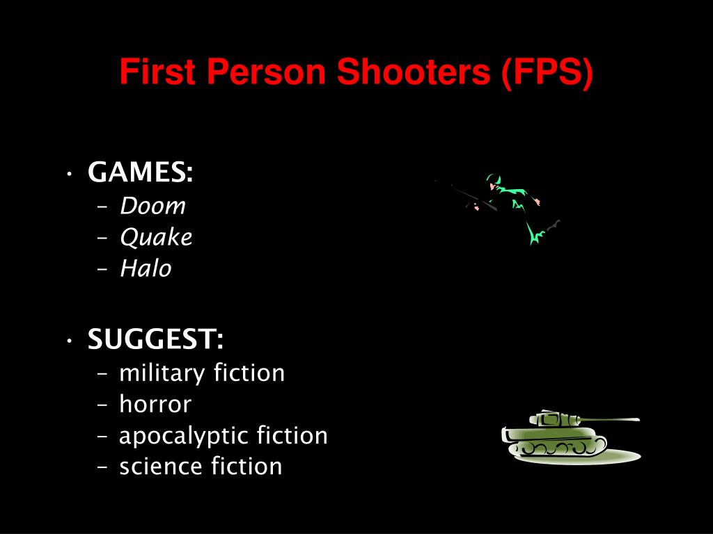 First Person Shooters (FPS)