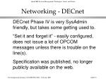 networking decnet91
